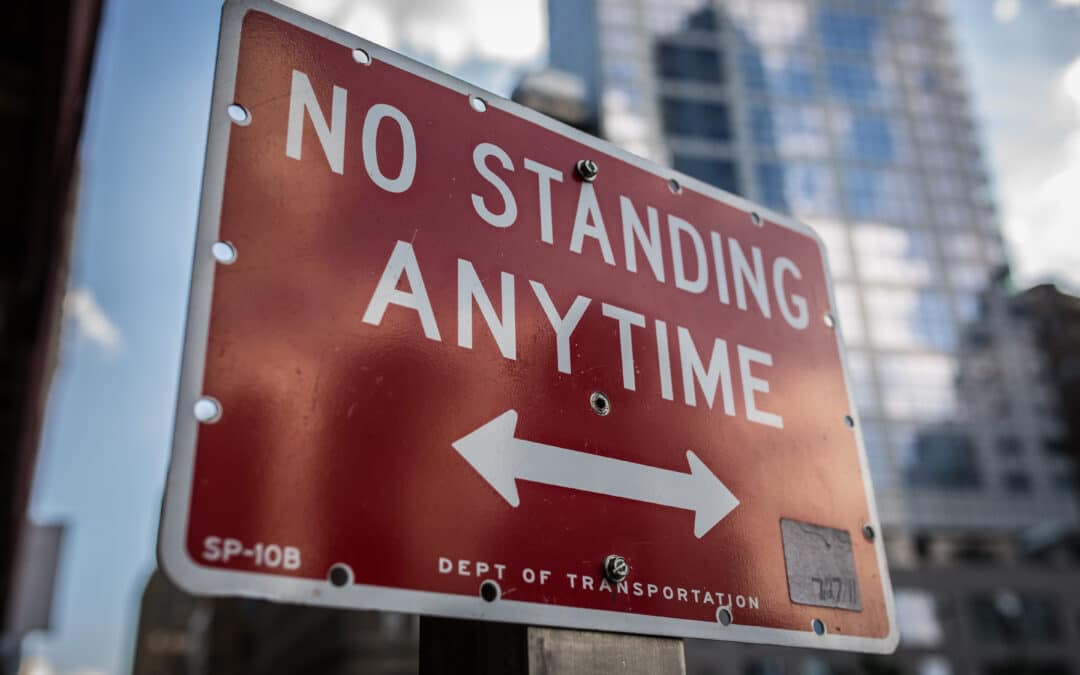 "Exclusive licensees: are you stuck in a ""No Standing"" zone?"