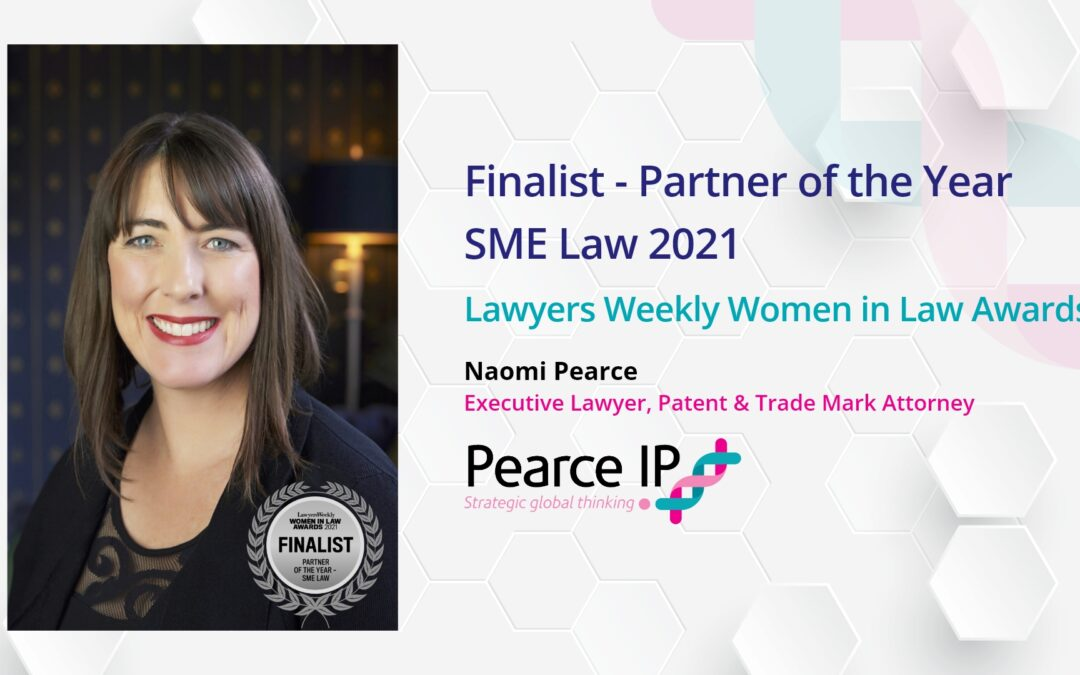 Naomi Pearce Shortlisted for Lawyer's Weekly Partner of the Year (SME Law), Women In Law Awards 2021